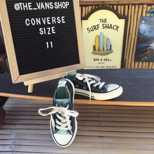 Converse All Star Canvas Low Top Sneakers Size 11
